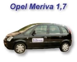 Opel Meriva 1,7 Automatik
